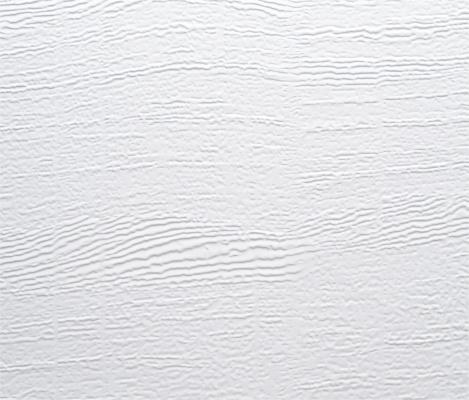 Oberfläche Woodgrain in RAL9016 Verkehrsweiss